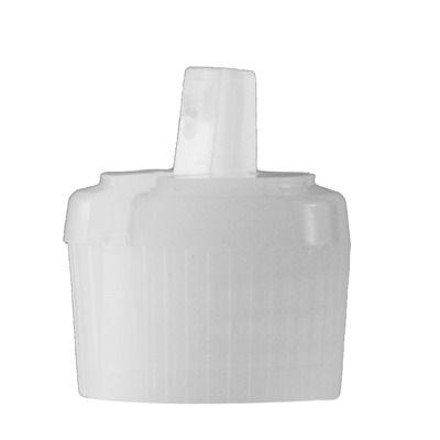 20-410 Natural Flip Spout Liquid Dispensing Screw Cap (2.5mm Orifice)
